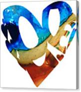 Love 6 - Heart Hearts Valentine's Day Canvas Print