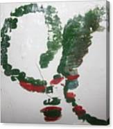 Love Abounds - Tile Canvas Print