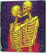 Love And Death Canvas Print