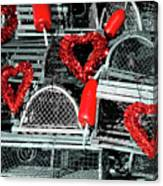 Love And Lobster Canvas Print