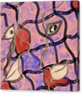 Love Between Dimensions Canvas Print