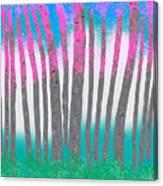 Love Birch Canvas Print