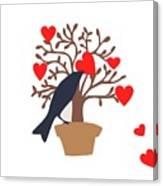 Love Bird Part 2 Canvas Print