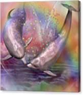 Love Bubbles Canvas Print