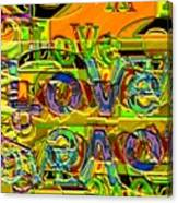 Love Contest Canvas Print