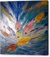 Love Crazed Coi Canvas Print