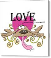 Love Endures Canvas Print