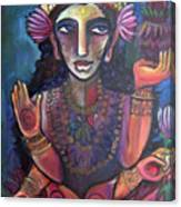 Love For Lakshmi Canvas Print