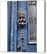 #love #france #doors #blue #europe Canvas Print