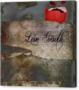 Love Growth - V2t1 Canvas Print