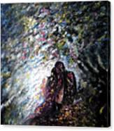 Love In Niagara Fall Canvas Print