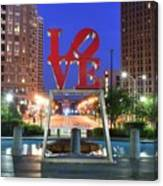 Love In Philly Canvas Print