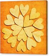 Love Interlinked Canvas Print