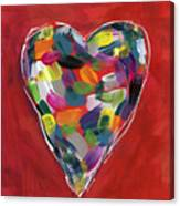 Love Is Colorful - Art By Linda Woods Canvas Print