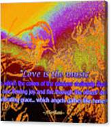 Love Is The Music Canvas Print