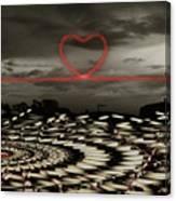 Love Lines Canvas Print