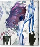 Love Metaphor - Drift Canvas Print