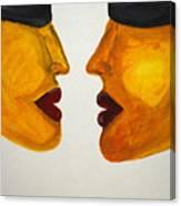 Love-on-line Canvas Print