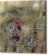 Love Protect Preserve Canvas Print