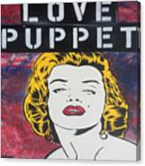 Love Puppet Canvas Print