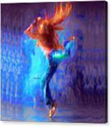 Love To Dance Canvas Print