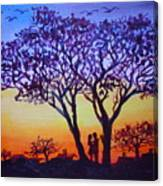 Love Under The Tree Canvas Print