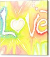 Lovelight Canvas Print