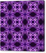 Lovely As A Purple Thought Canvas Print