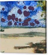 Lovely Beach Canvas Print