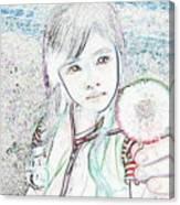 Lovely Dandelion Canvas Print