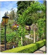 Lovely Day In The Garden Canvas Print