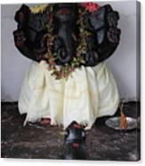 Lovely Ganesha, Valparai Canvas Print