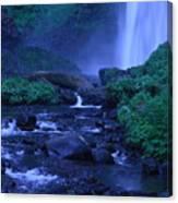 Lovely Latourell Falls Canvas Print