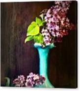 Lovely Lilacs Canvas Print