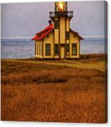 Lovely Point Cabrillo Light Station Canvas Print