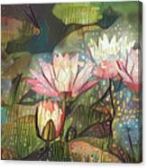Lovely Waterlilies 7 Canvas Print