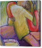 Lovers Embrace Canvas Print