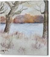 Lovers' Lake Canvas Print