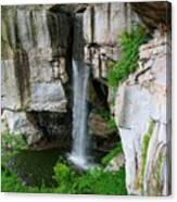 Lover's Leap Waterfall Canvas Print