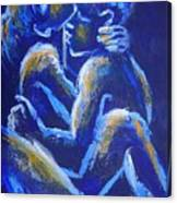 Lovers - Night Of Passion 4 Canvas Print