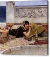 Loves Votaries Lawrence Alma-tadema Canvas Print