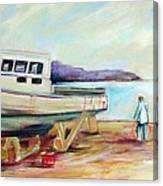 Lovie Canvas Print