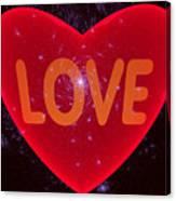 Loving Heart Canvas Print