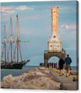 Loving Port Canvas Print