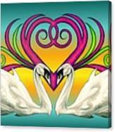 Loving Souls Canvas Print