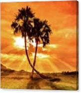 Loving Trees Canvas Print
