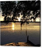 Low Country Sunset Canvas Print