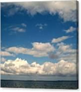 Low Hanging Clouds Canvas Print