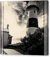 Low Head Lighthouse Canvas Print