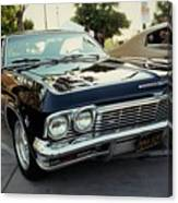 Low Rider In Black Canvas Print